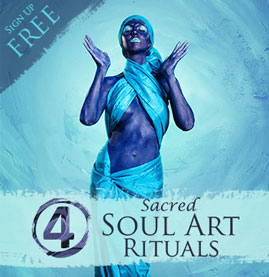 Sign up for the 4 Sacred Soul Art Rituals