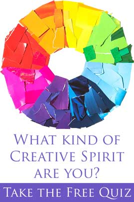 Take the free quiz to find out what kind of creative spirit are you