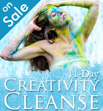 Creativity Cleanse on sale now