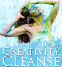 Sign up now for Laura Hollick's Creativity Cleanse