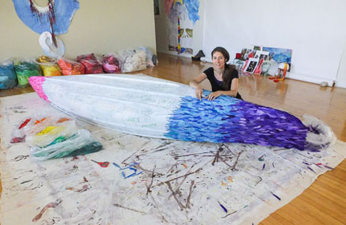 Making Rainbow Canoe