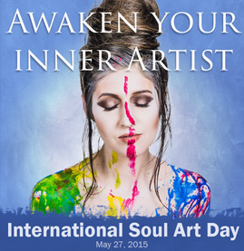 Sign up for International Soul Art Day